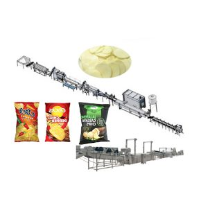 Automatic potato chips making machine for sale