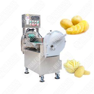 Potato Chips Slicer French Fries Cutting Machine