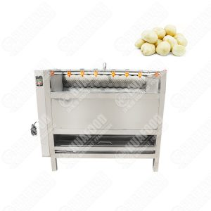 Multi-function washing machine with brush for vegetable