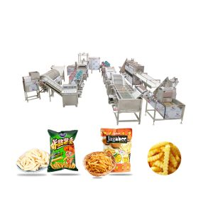 Full Automatic Potato French Fries Making Production Line