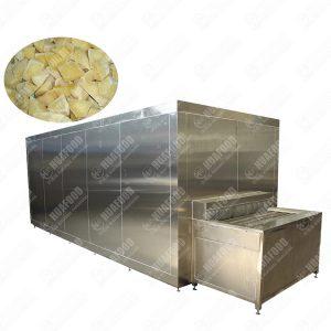 Quick IQF Blast Freezer for Potato Freezing Factory