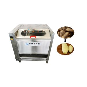 Brush root vegetable peeling equipment cleaning machine fish scale removal machine