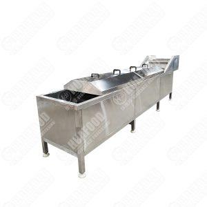 Automatic Vegetable Potato Blanching Machine
