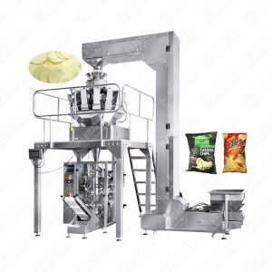 Automatic potato chips/biscuit/granule/grain snack food packing machine