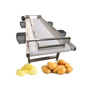 Stainless steel potato lemon sorter machine