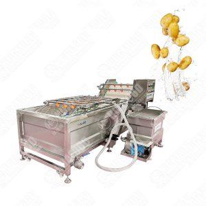 External Water Circulation Air Bubble Washing Machine
