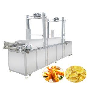 New Design 600kg Continuous Conveyor Fryer Price