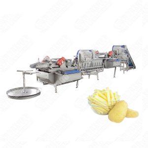 vortex vegetable washing line for supermarket