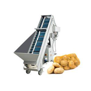 Automatic potato net bag packing machine