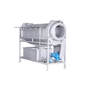 Barrel conveyor washing machine