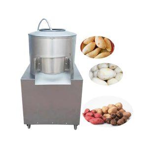 Potato skinning machine Potato skin peeling machine