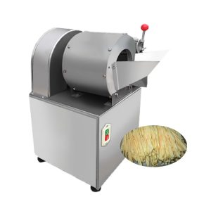 High quality crinkle-cut and strip-cut fries cutting machine