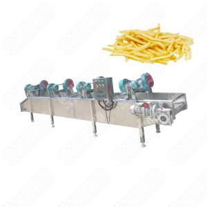 Potato Chips Cold Air Drying Dewatering Machine Air Blowing Machine