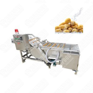 Fruit Air Bubble Cleaning Machine Electric Vegetable Washer