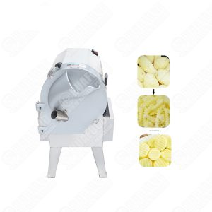 Thick and thin adjustable multifunction vegetable potato cutter slicing machine