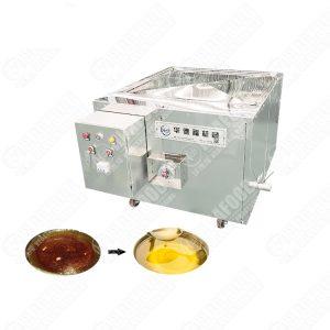 Potato Chips Batch Fryer Deep Fryer Oil Filter Machine