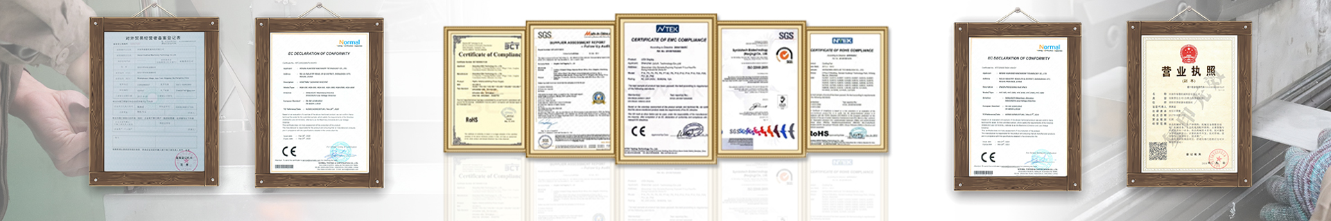 Certificates-Foodprocessingmachine